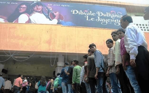 DDLG in Maratha Mandir Mumbai