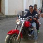Harley Davison gfited by Sanjoy Dutta