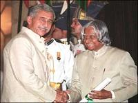 Padma Bhushan in 2003