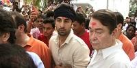 Randhir Kapoor with ranbir