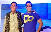 Salim Khan with salman khan