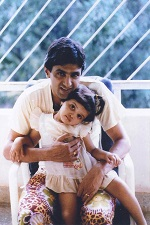 deepika with her father