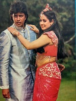 mithun with sridevi
