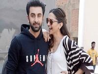 ranbir with Deepika Padukone