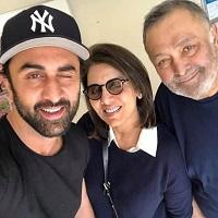 ranbir with parents