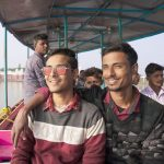Kiran Dutta with Brother