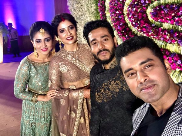 Subhasree and Raj marriage ceremony