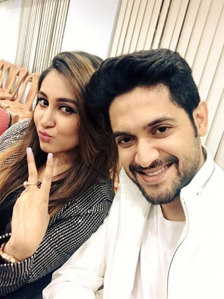 oindrila with Vikram