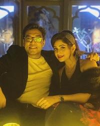ritabhari with anupam
