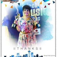 Lagnajita Chakraborty Awards