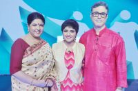 Lagnajita with Parents