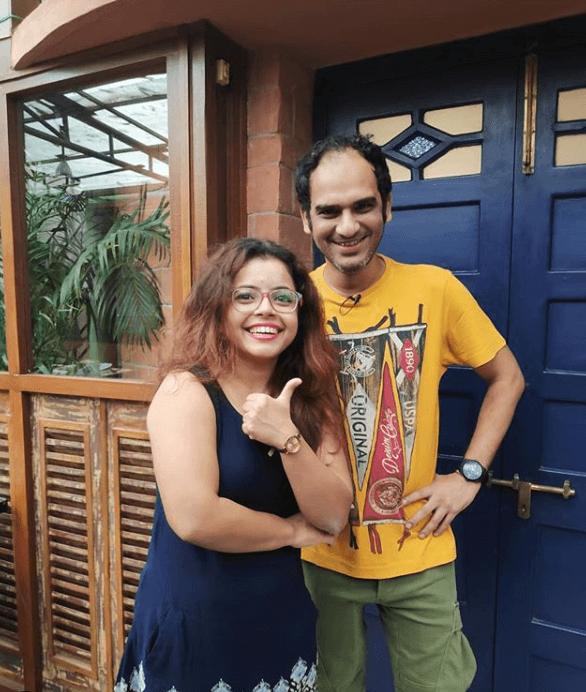 Munna with Ritwick Chakraborty