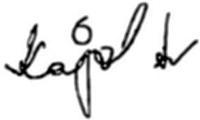 kajol signature