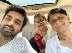 Ankush with family