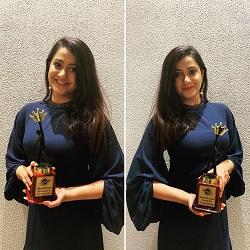 Anamika's award