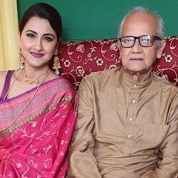 rachana with father