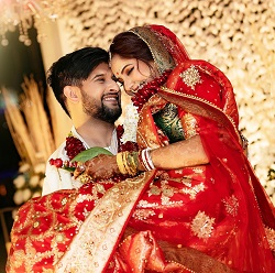 trina and neel marriage