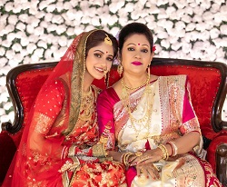 trina with mother